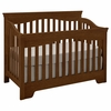 Quick Ship Built to Grow Debut Crib in Cherry