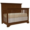 Quick Ship Built to Grow Lyric Crib in Cherry