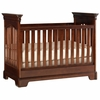 Quick Ship Built to Grow Tribute Crib in Antique Cherry