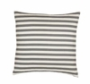 Draper Stripe Euro Sham Pair in Ash