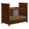 Quick Ship Fanfare Crib in Cherry