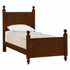 Quick Ship myHaven Cottage Bed in Antique Cherry