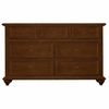 Quick Ship myHaven Double Dresser in Antique Cherry