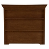 Quick Ship myHaven Hutch in Antique Cherry