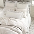 Quick Ship!Savannah Linen White Euro Sham