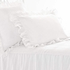 On Sale Savannah Linen White Euro Sham