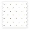 Quick Ship! Treetop Friends Mocha Dot Printed Sheet