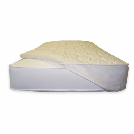 Quilted Fitted Crib Mattress Topper
