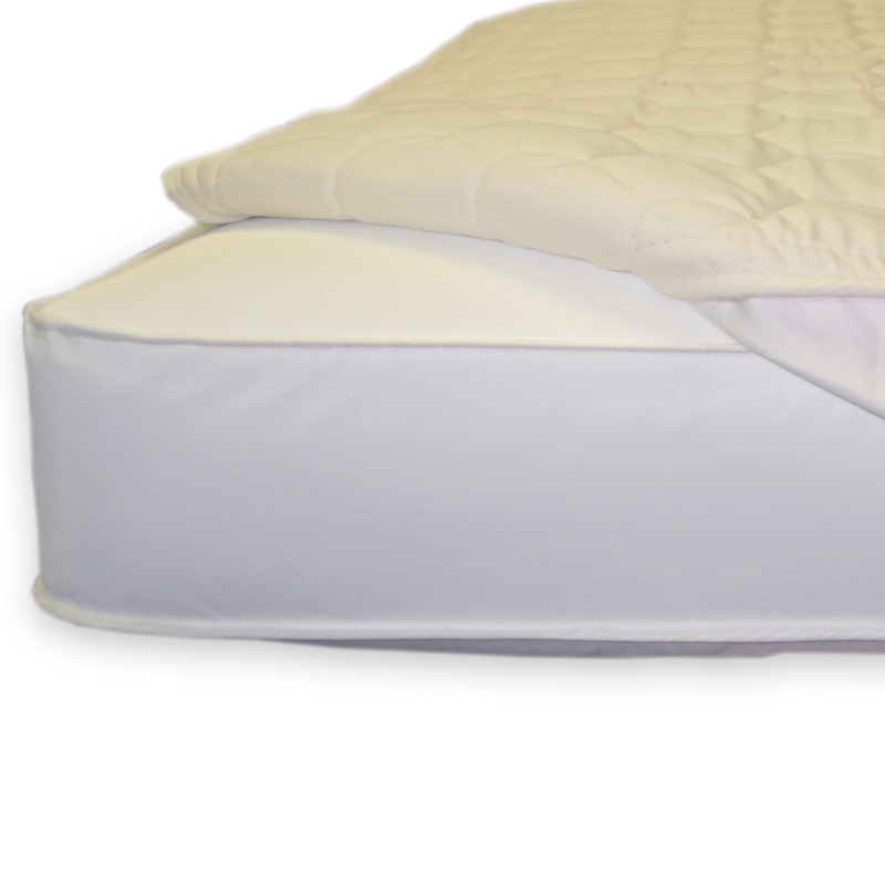 Quilted Fitted Crib Mattress Topper by Naturepedic