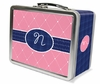 Quilted Monogram Lunch Box