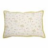 Rabbit Patch Decorative Quilted Pillow Cover