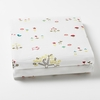 Rabbit Patch Fitted Crib Sheet