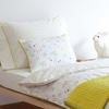 Rabbit Patch Quilted Pillow Sham