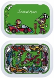 Racecar Changeable Faceplate