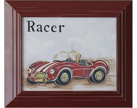 Racer Hand Painted Art