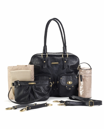 Rachel Diaper Bag - Black