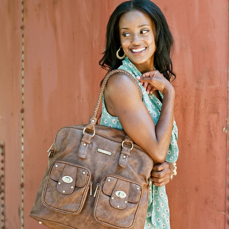 Rachel Diaper Bag - Caramel