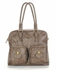 Rachel Diaper Bag - Taupe