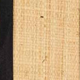 Raffia with Black Trim - C $(+121.90)