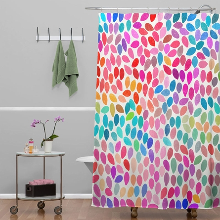 Rain 8 Shower Curtain