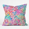 Rain 8 Throw Pillow