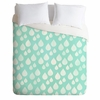 Rain Drops Lightweight Duvet Cover