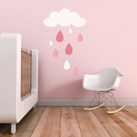 Rain Drops Wall Decal
