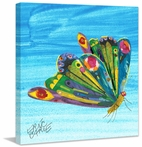 Rainbow Butterfly Canvas Wall Art