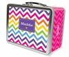 Rainbow Chevron Lunch Box