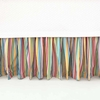 Rainbow Stripe Bed Skirt