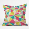 Raincatchers Throw Pillow