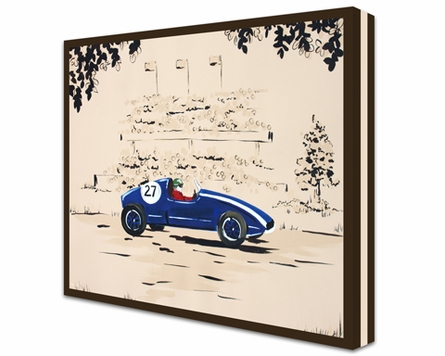 Rally Roadster I Canvas Reproduction