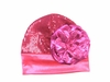 Raspberry Rose Couture Hat
