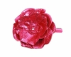 Raspberry Rose Solid Headband with Raspberry Rose Sequin Flower