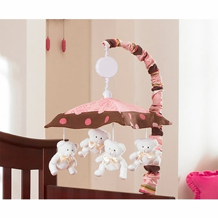Raspberry Truffle 3-Piece Crib Bedding Set