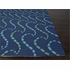 Ray Hello Rug in Blue