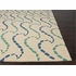Ray Hello Rug in White