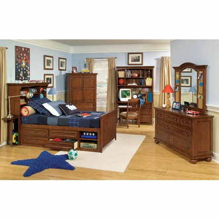 Reagan Bookcase Bed