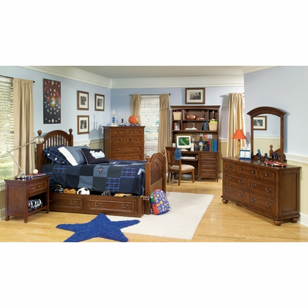 Reagan Low Poster Bed