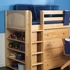 Reagan Mid Loft with Dressers, Bookcase and Desk