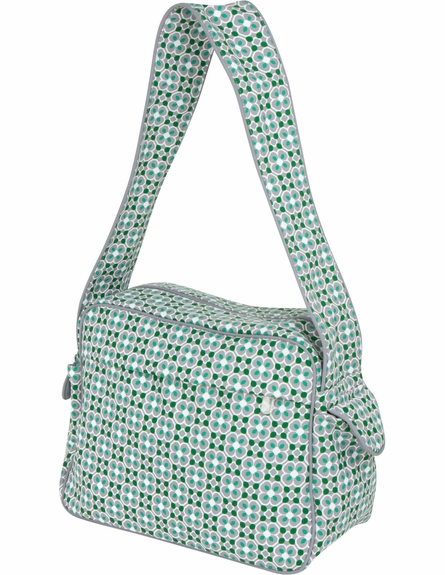 Rebecca Tote Diaper Bag in Lucky Clover
