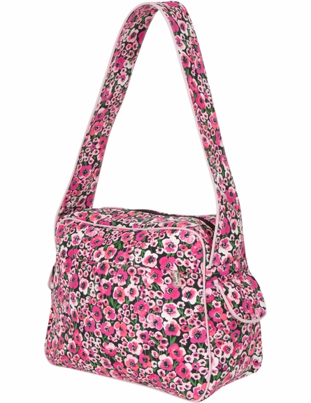 Rebecca Tote Diaper Bag in Peony Paradise