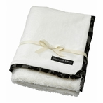 On Sale Receiving Blanket - Blackberry Sage