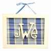 Rectangle Monogram Wall Plaque
