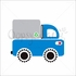 Recycle Truck Canvas Wall Art