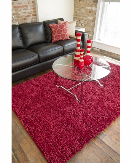 Red Aros Rug