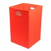 Red Canvas Laundry Bin