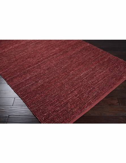 Red Continental Jute Rug