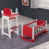 Red Darling Doll Furniture Set