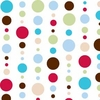 Red Dot Line Caden Lane Fabric by the Yard